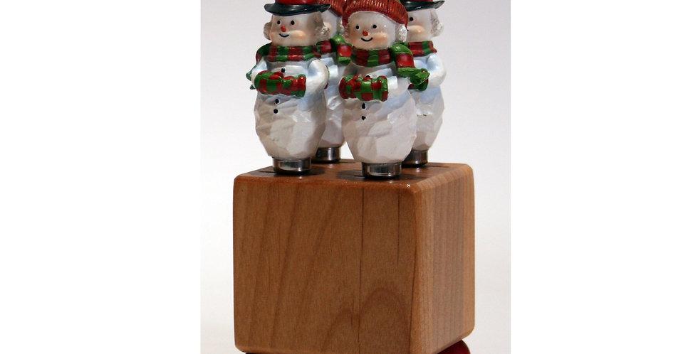 Mini Block Crate Set - Snow Couple