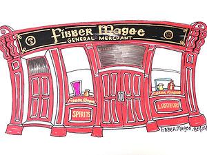Fibber Magee, Belfast