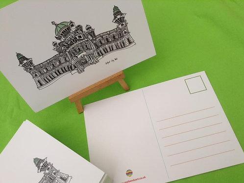 Belfast City Hall postcard/A5 miniprint