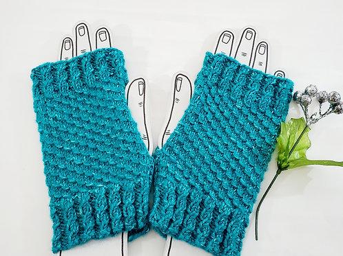 Hand Knitted Fingerless Gloves Women's Knit Gloves