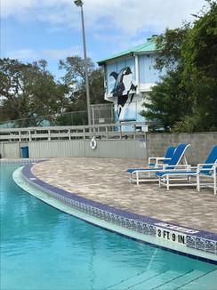 Large pool!