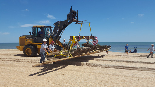 Local Demolition Company Saves Florida From Dipping Into Emergency Fund To Move Shipwreck