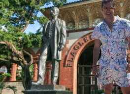 Flagler College Recognized as Most Likely Place in Town to See a Man in a Romper