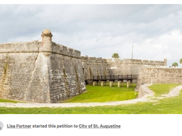 PROTEST: Petition With Minimal Periods (Punctuation), Looks To 'Save Oldest City'