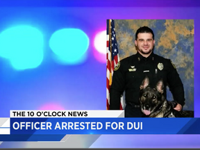 WASTED: Florida Cop Gets Arrested While Drunk In Patrol Car