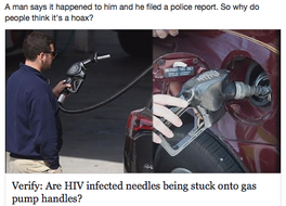 "FAKE NEWS ALERT: FCN Runs Completely Unverified ""Aids Needle Hoax"" Story as FACT"