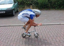 DELUSIONAL: Lance Armstrong Wannabes to Ruin Already Terrible Traffic Conditions Again Today