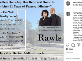 Rev Ron Rawls Appears To Be OUT At St. Paul AME