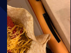 BLADE IN FOOD: Florida Woman Finds Entire Box Cutter In Taco Bell Order