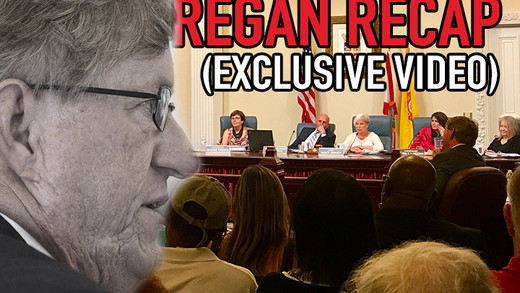 'REVIEW' 4 Commissioners Say ZERO Need For ANY Regan Improvement - Suggest Lowering Standard