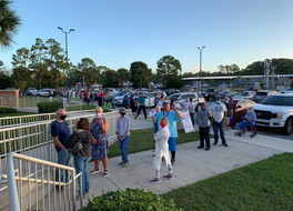 St. Johns County Sees Large Lines For Early Voting