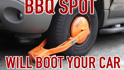 BOOTED: BBQ Spot Will Now Boot You Car For Visiting Competitor?