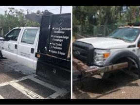 Florida Man Steals Dump Truck - Tries To Ram Through Naval Station Barrier