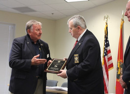 REAL NEWS: Sheriff Shoar Receives Colonel Ed Taylor Award