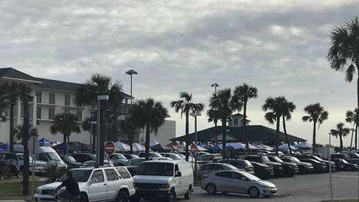 GREED? County Rents Entire Pier Parking Lot While Whining About Market Taking Parking