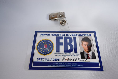FBI Badge - Dean