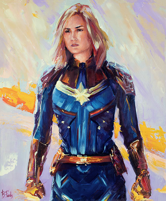 Captain Marvel portrait