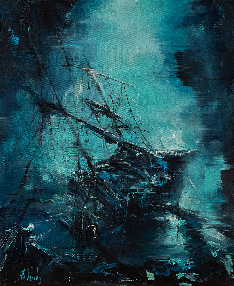 shipwrecks painting