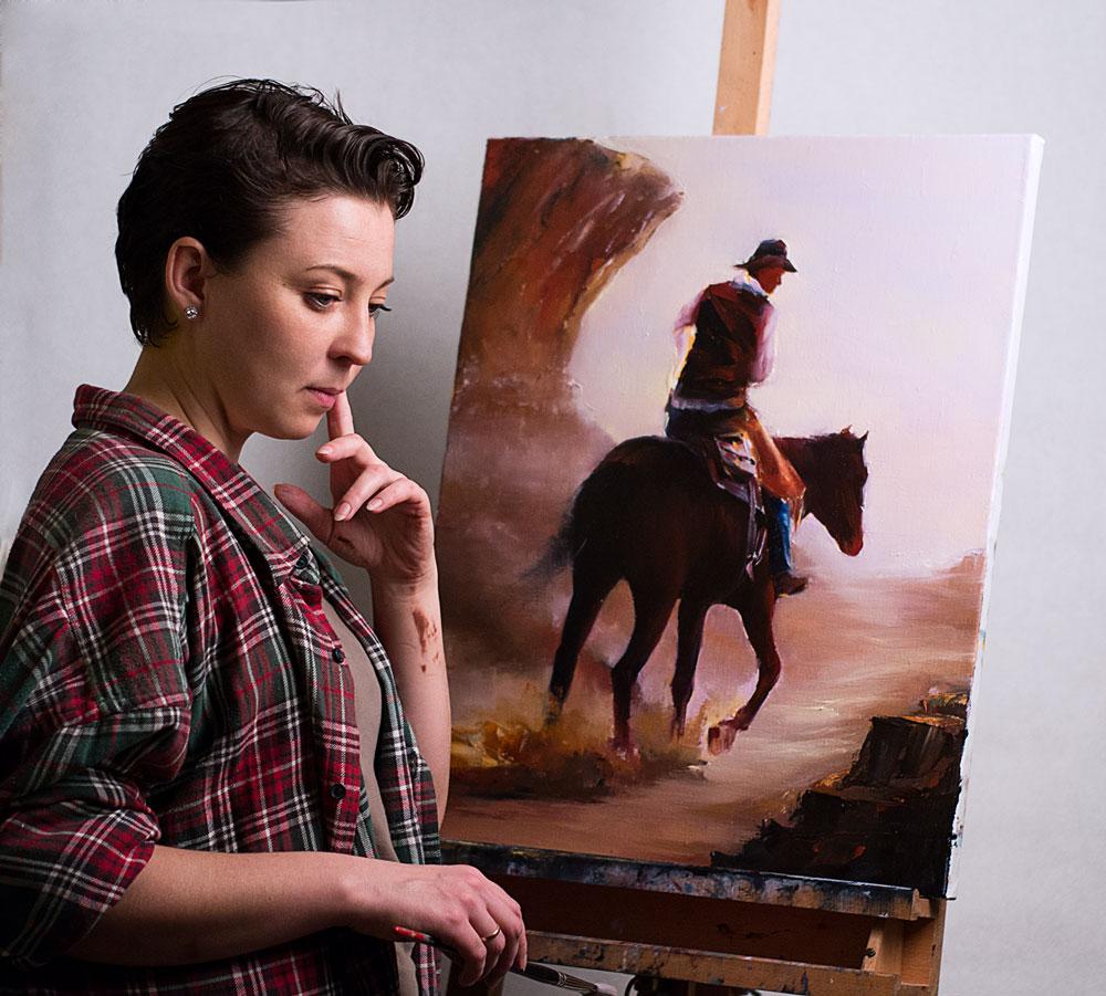 western artist