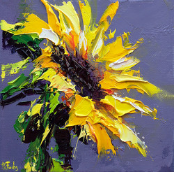 Sunflower Painting Print