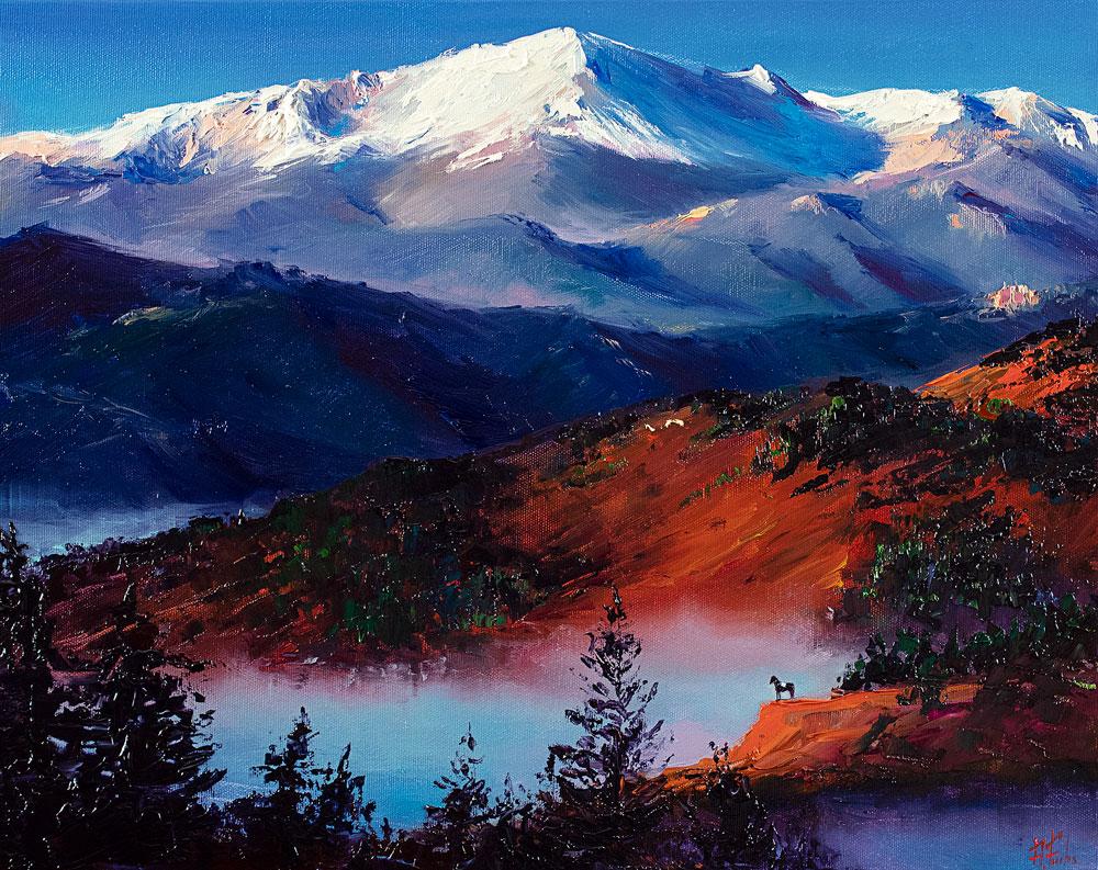 commission landscape oil painting