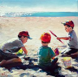 Custom Portrait Painting Children