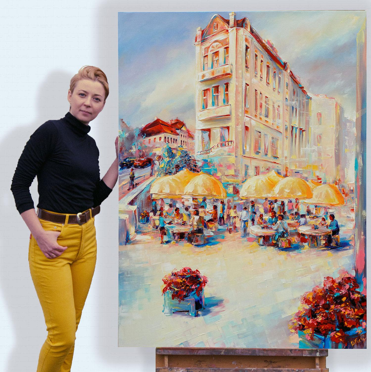 Artist Bozhena Fuchs