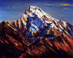 Annapurna painting