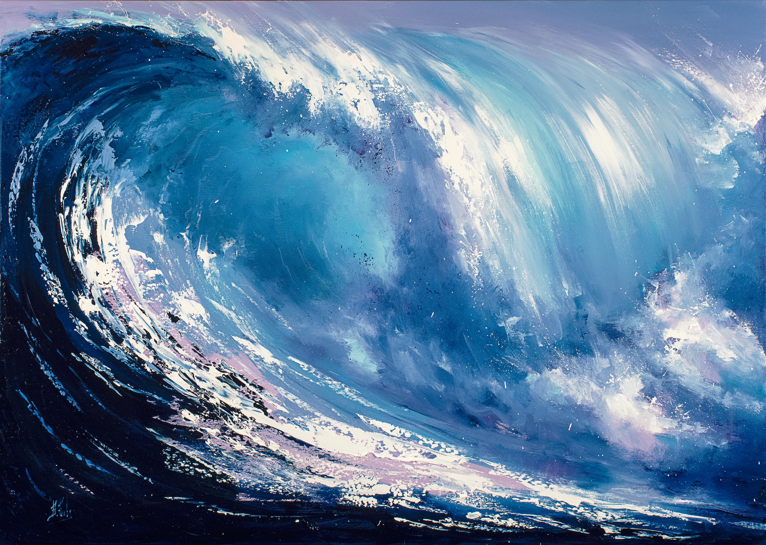 Wve oil painting large