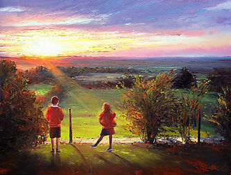 Commission oil painting from a photo