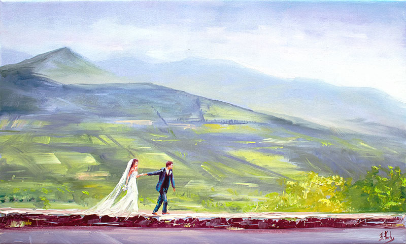 Wedding portrait commission