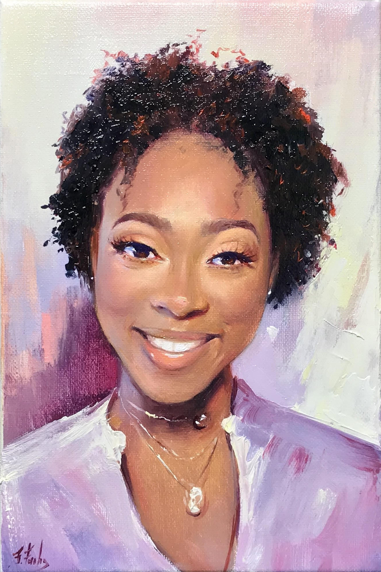 portrait painting commission