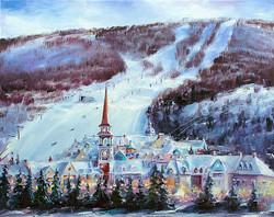 Commission landscape painting