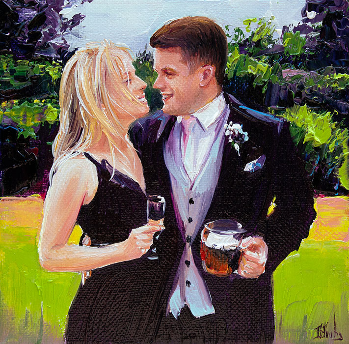 wedding painting commission