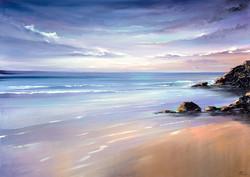 Calmness on the beach