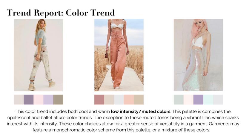 Trend Report: Color Trend