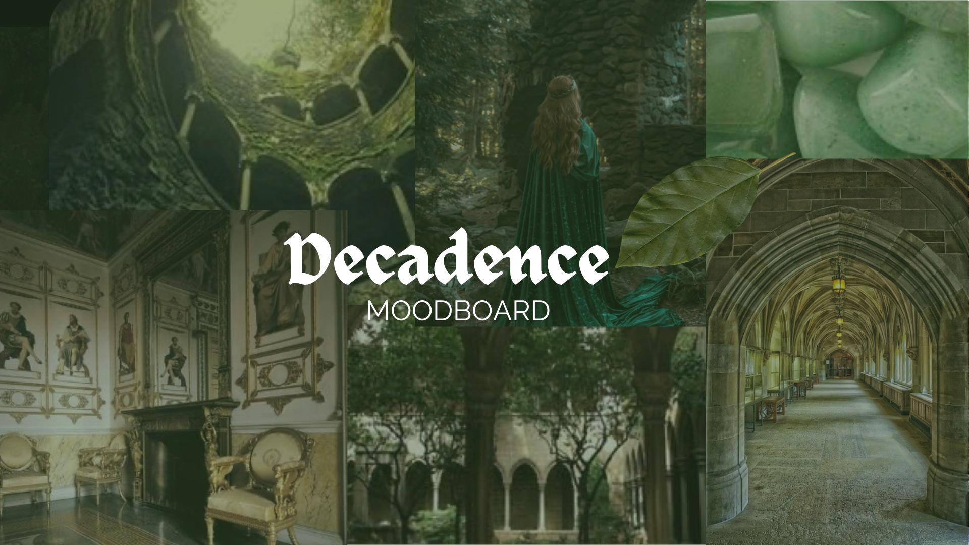 Decadence Moodboard