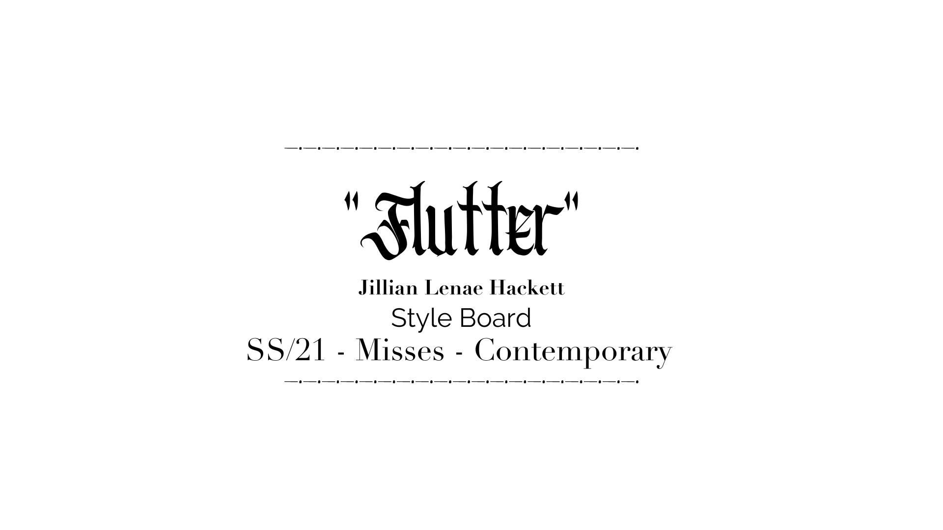 Flutter Style Board