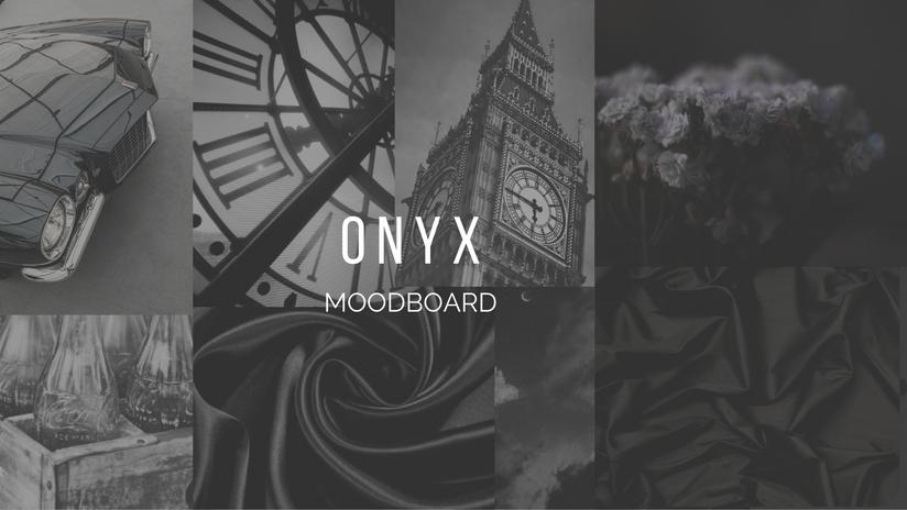 Onyx Moodboard
