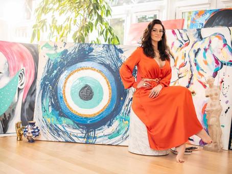 Cheddar News | Sophie Brussaux Launches Eco-Friendly NFT Platform for Art Work