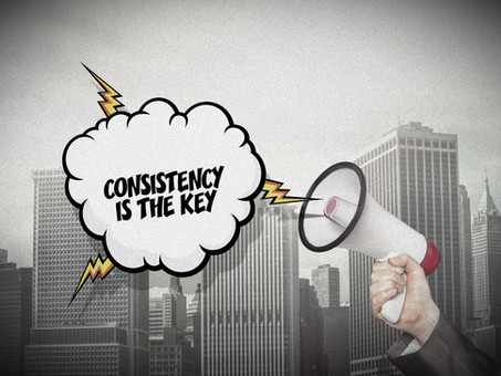 Radio, Television, Marketing - Consistency is the Key...