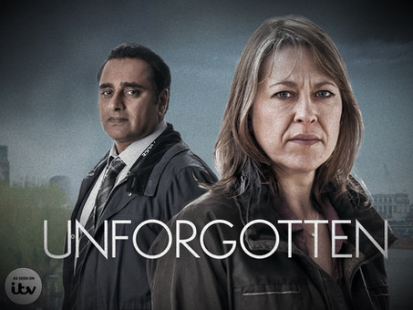 Unforgotten is a great drama and you don't notice the sound ...a good thing!