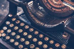 Stacy Mckenna coaching - typewriter