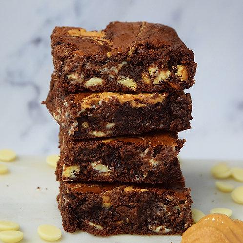 Peanut Butter Brownie Box