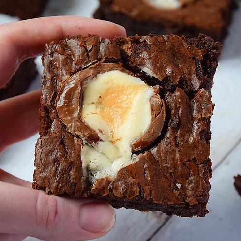 Creme Egg Brownie Box