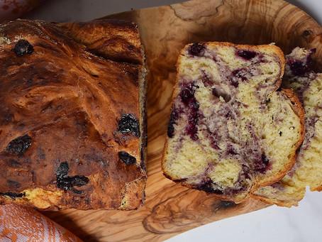 Vegan Blueberry Loaf