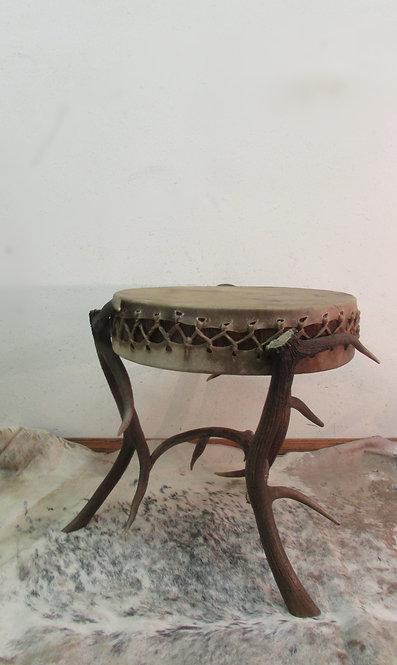 Elk Drum Endtable