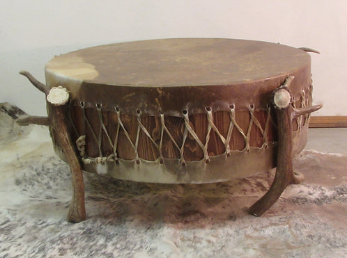 Elk Drum Coffee Table