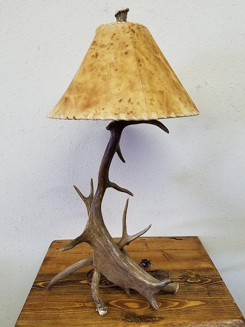 Fallow and Mule Deer Table Lamp