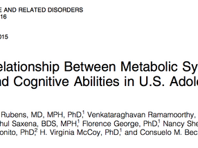 Does Metabolic Syndrome damage teen brains?